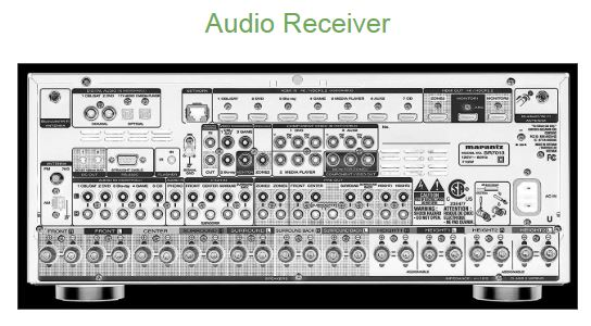 this is an image of an audio reciever